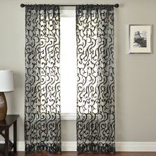 Abel Rod Pocket Curtain Panel