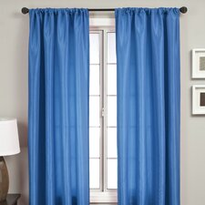 <strong>Softline Home Fashions</strong> Bella Kids Rod Pocket Curtain Single Panel