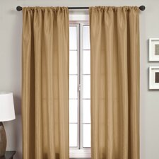 Bella Rod Pocket Curtain Panel