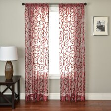 <strong>Softline Home Fashions</strong> Abel Rod Pocket Curtain Single Panel