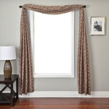 <strong>Softline Home Fashions</strong> Sava 6 Yard Single Window Scarf