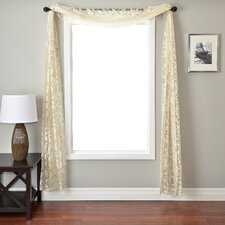 <strong>Softline Home Fashions</strong> Badi Scroll 6 Yard Single Window Scarf
