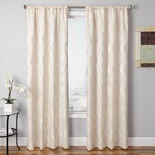 Samantha Rod Pocket Window Curtain Single Panel