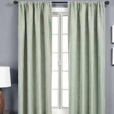 <strong>Softline Home Fashions</strong> Iris Rod Pocket Curtain Single Panel