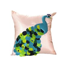 <strong>Debage Inc.</strong> Felt Peacock Pillow