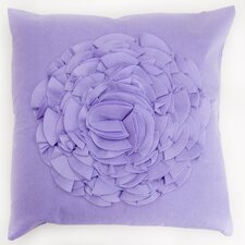 Crinkled Flower Pillow