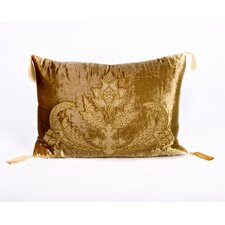 Tudor Polyester Velvet Rectangular Pillow