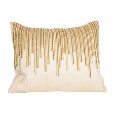 Beaded Top Pillow