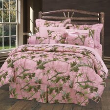 Pink Oak Camo Bedding Collection