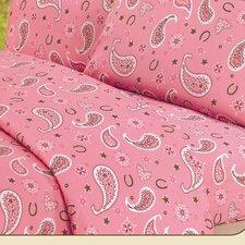 Paisley Sheet Set in Pink