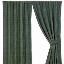 Bella Vista Rod Pocket Curtain Single Panel