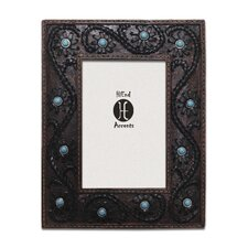 """4"""" x 6"""" Scrolled Lacing Picture Frame (Set of 2)"""