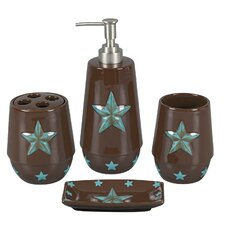 <strong>HiEnd Accents</strong> Star 4 Piece Bathroom Set