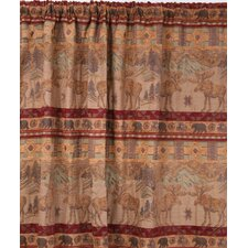 Moose Rod Pocket Curtain Single Panel