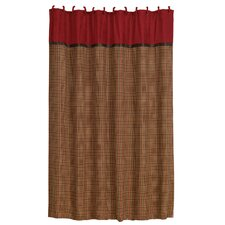 <strong>HiEnd Accents</strong> Tahoe Polyester Shower Curtain