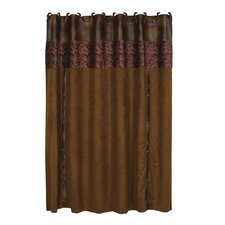 Austin Faux Leather Shower Curtain