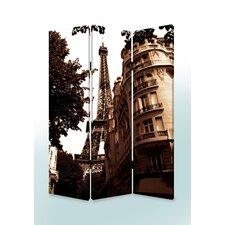 "72"" x 48"" Paris Screen 3 Panel Room Divider"