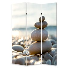 "72"" x 48"" Spa Screen 3 Panel Room Divider"
