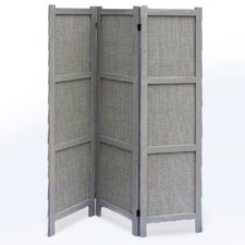 "67"" x 52"" Terrance 3 Panel Room Divider"