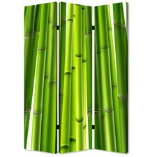 """71"""" x 47"""" Bamboo 3 Panel Room Divider"""