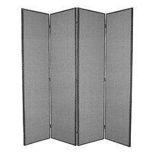 "84"" x 80"" Mandalay 4 Panel Room Divider"