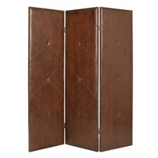 "74"" x 60"" Copley Screen 3 Panel Room Divider"