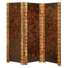 "<strong>Screen Gems</strong> 74"" x 65"" Remington Screen 3 Panel Room Divider"