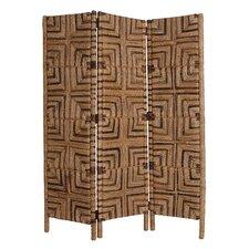 "73"" x 62"" Latitude Screen 3 Panel Room Divider"