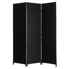 "72"" x 54"" Pensacola 3 Panel Room Divider"