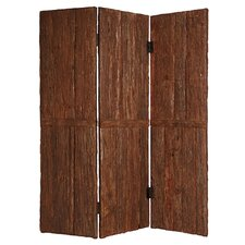 "85"" x 72"" Tahoe Screen 3 Panel Room Divider"
