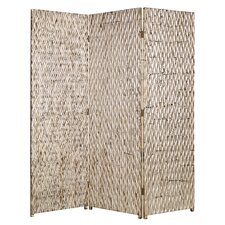 "<strong>Screen Gems</strong> 74"" x 63"" Sterling Screen 3 Panel Room Divider"