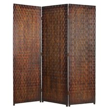 "74"" x 63"" Albata Screen 3 Panel Room Divider"