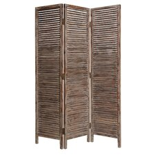 "73"" x 63"" Hacienda Screen 3 Panel Room Divider"