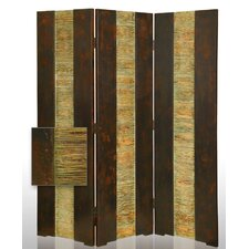 "<strong>Screen Gems</strong> 72"" x 65"" Empress Folding 3 Panel Room Divider"