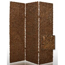 "72"" x 60"" Root Decorative 3 Panel Room Divider"
