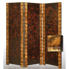 "<strong>Screen Gems</strong> 72"" x 65"" Remington Decorative Folding 3 Panel Room Divider"