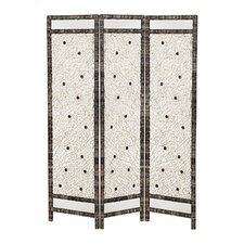 "<strong>Screen Gems</strong> 72"" x 62"" Spider 3 Panel Room Divider"