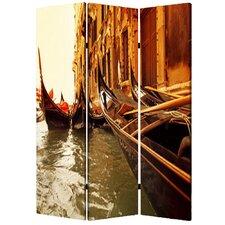 "71"" x 47"" Venice 3 Panel Room Divider"