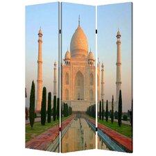 "71"" x 47"" Taj Mahal 3 Panel Room Divider"