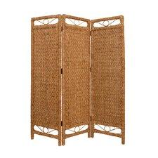 "72"" x 60"" Palm Cascading 3 Panel Room Divider"