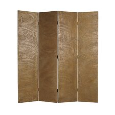 "<strong>Screen Gems</strong> 73"" x 48"" Barreta Screen 4 Panel Room Divider"