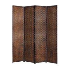 "87"" x 84"" Danyl Screen 4 Panel Room Divider"