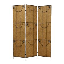 "<strong>Screen Gems</strong> 72"" x 60"" Lone Star 3 Panel Room Divider"