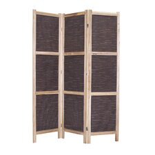 "<strong>Screen Gems</strong> 67"" x 52"" Sumatra 3 Panel Room Divider"