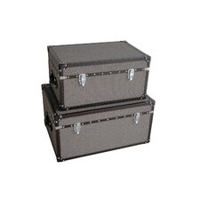 <strong>Screen Gems</strong> Mandalay Rectangle Trunk (Set of 2)