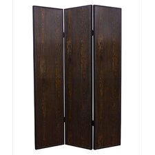"71"" x 52"" Criss Cross 3 Panel Room Divider"