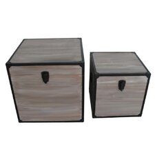 Industrial Square Trunk