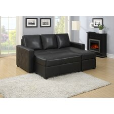 <strong>AC Pacific</strong> Lucas Black Sofa
