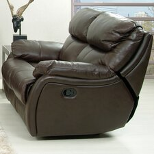 Jonathan Leather Reclining Loveseat