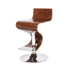 <strong>AC Pacific</strong> Adjustable Swivel Bar Stool